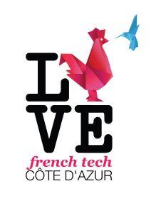 Logo ILOVE_French Tech Côte d'Azur